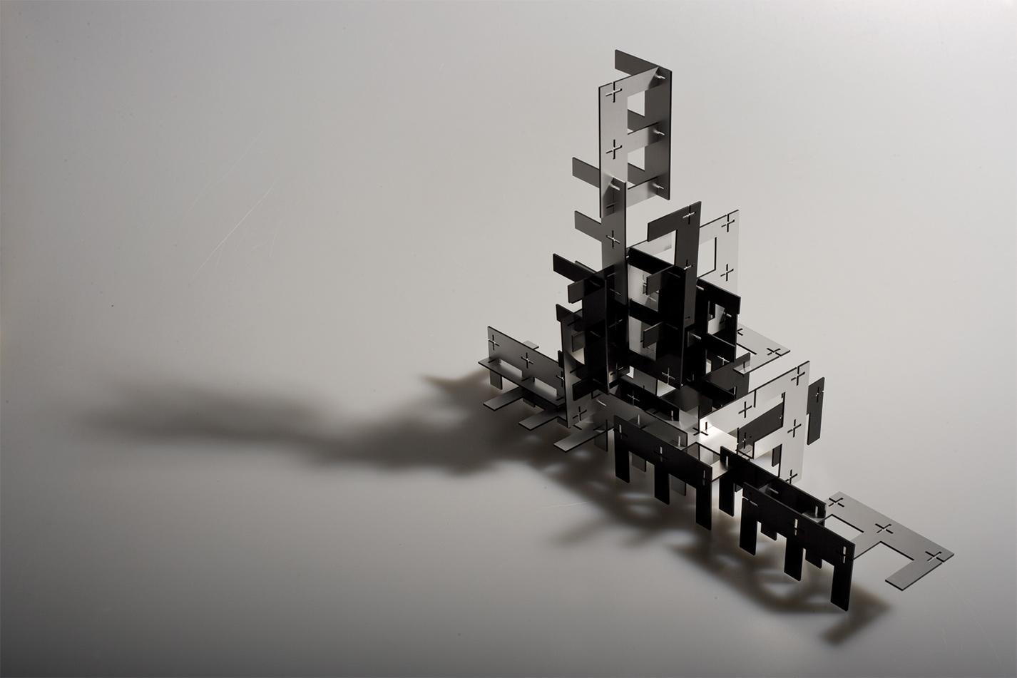 Esteck Steckskulptur Buchstaben Spiel Artwork