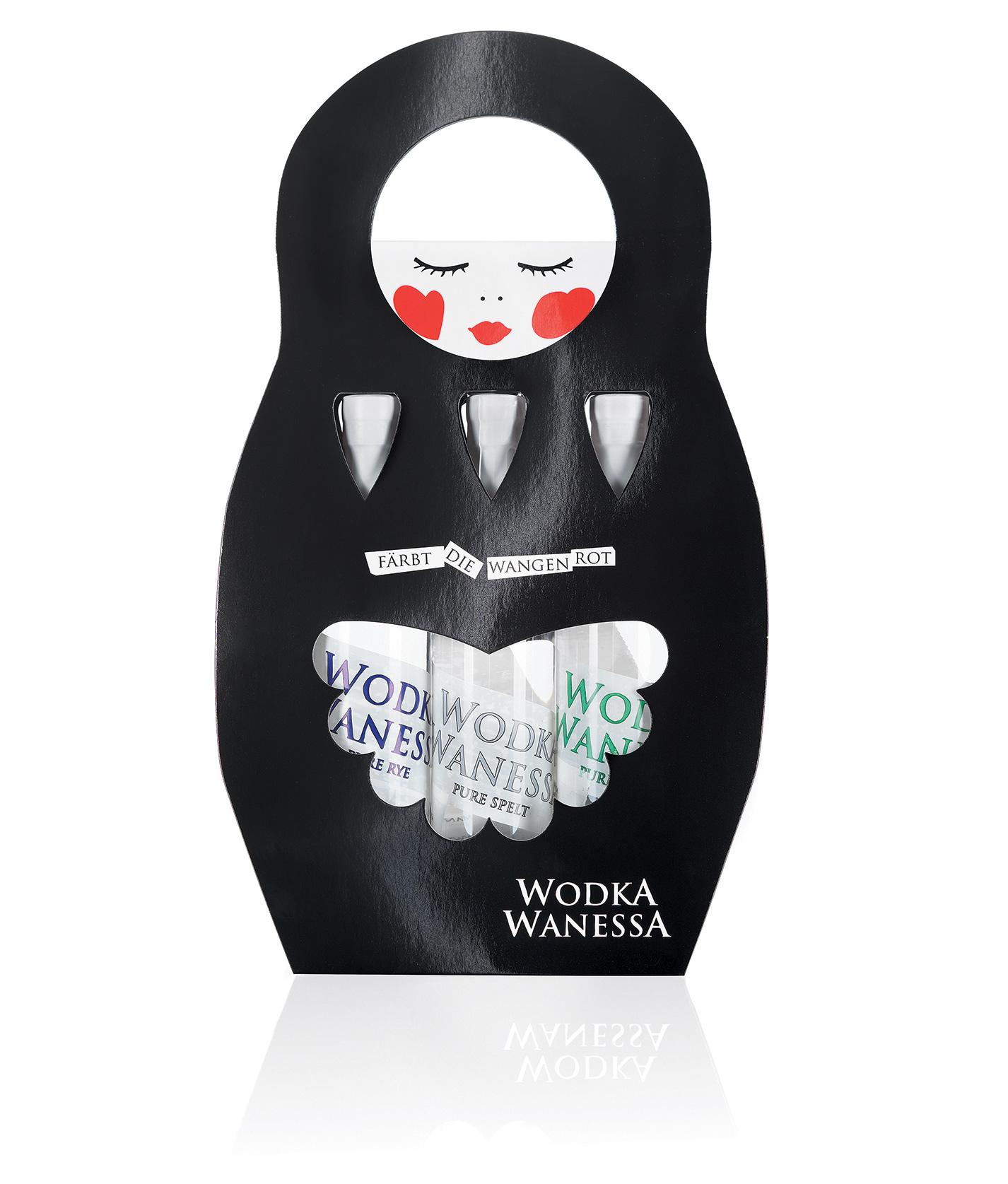 Wodka Wanessa bag 3erPack