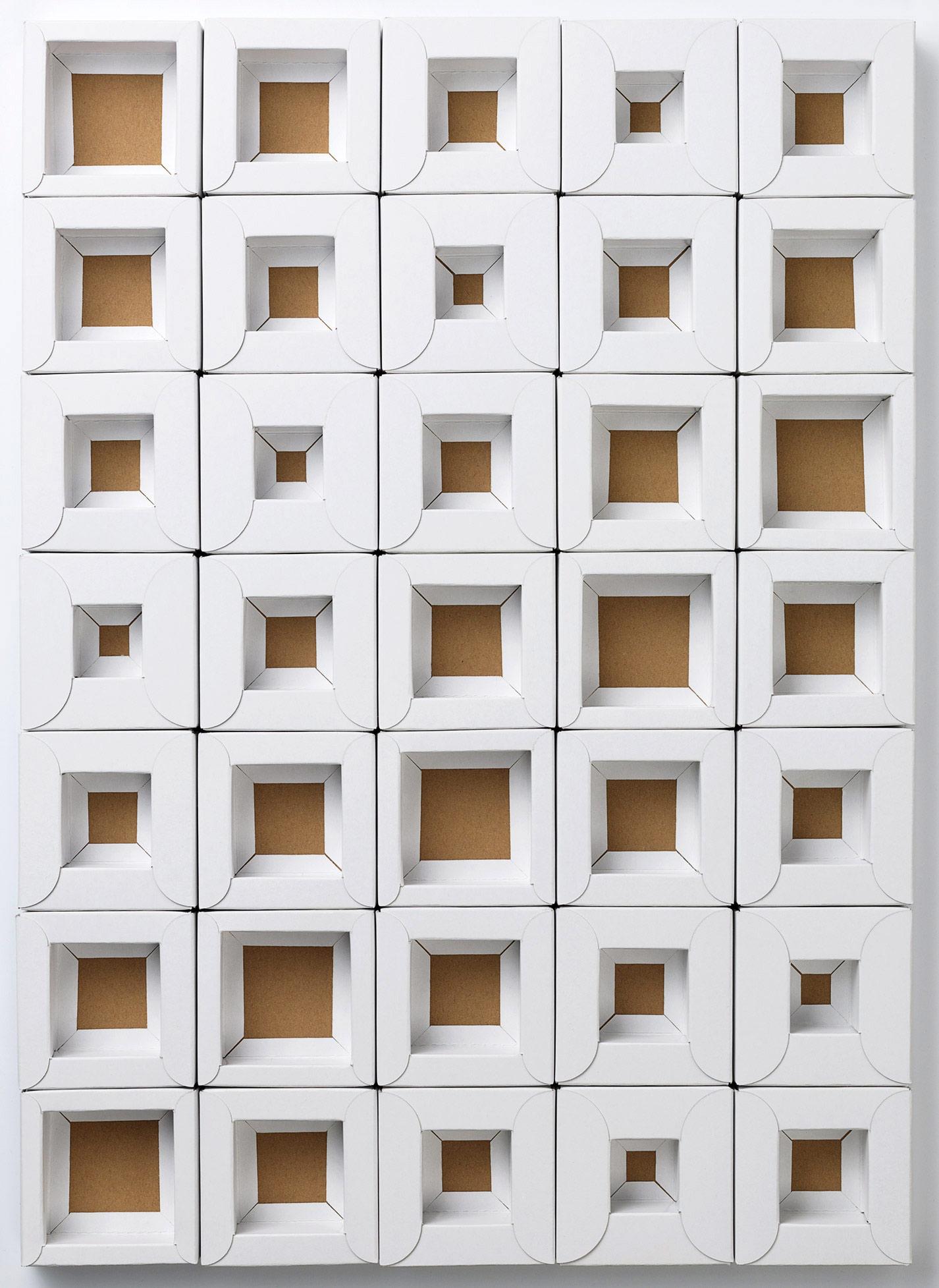 Mayr-Melnhof Geschäftsbericht Sujet Artwork Hohlwand