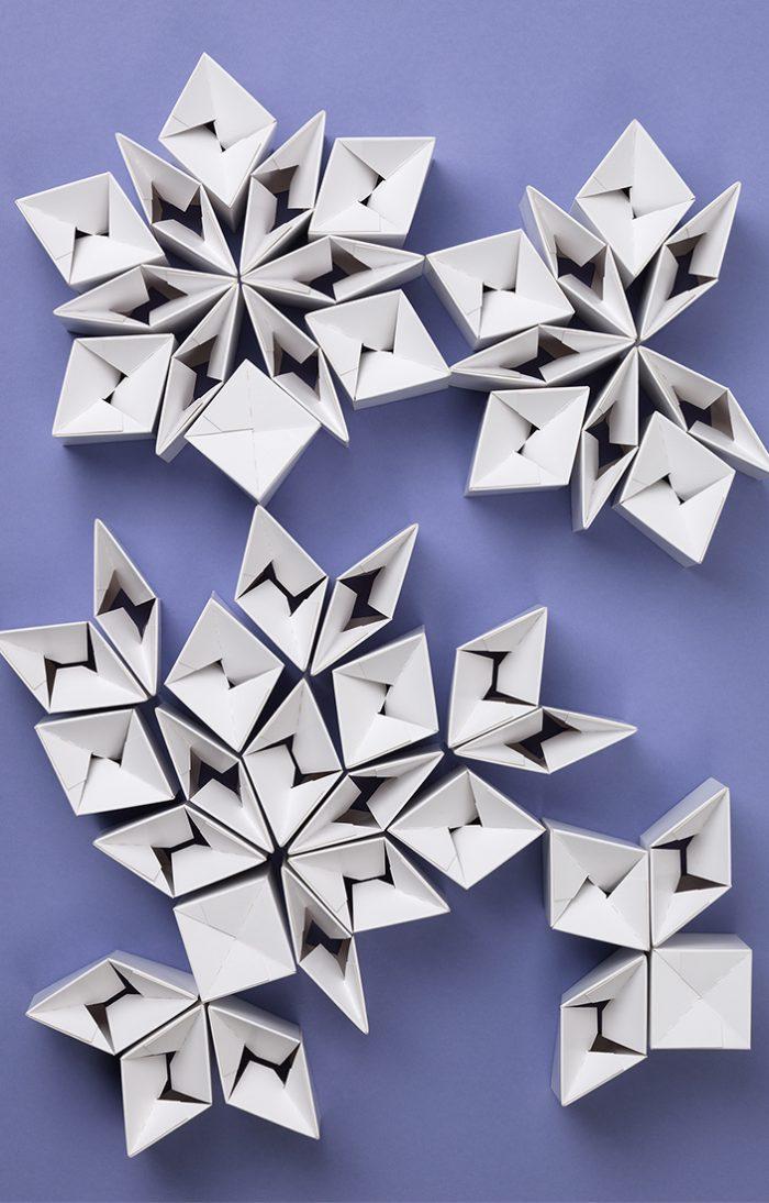 Mayr-Melnhof Geschäftsbericht Sujet Artwork Blitzboden