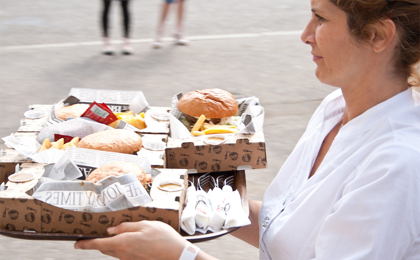 Burgersteige BBQ Festival Action
