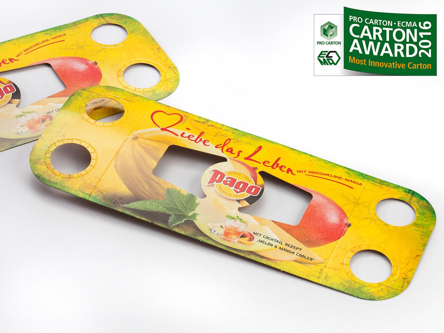 pago ProCarton Ecma Award Most Innovative Carton by Gerlinde Gruber