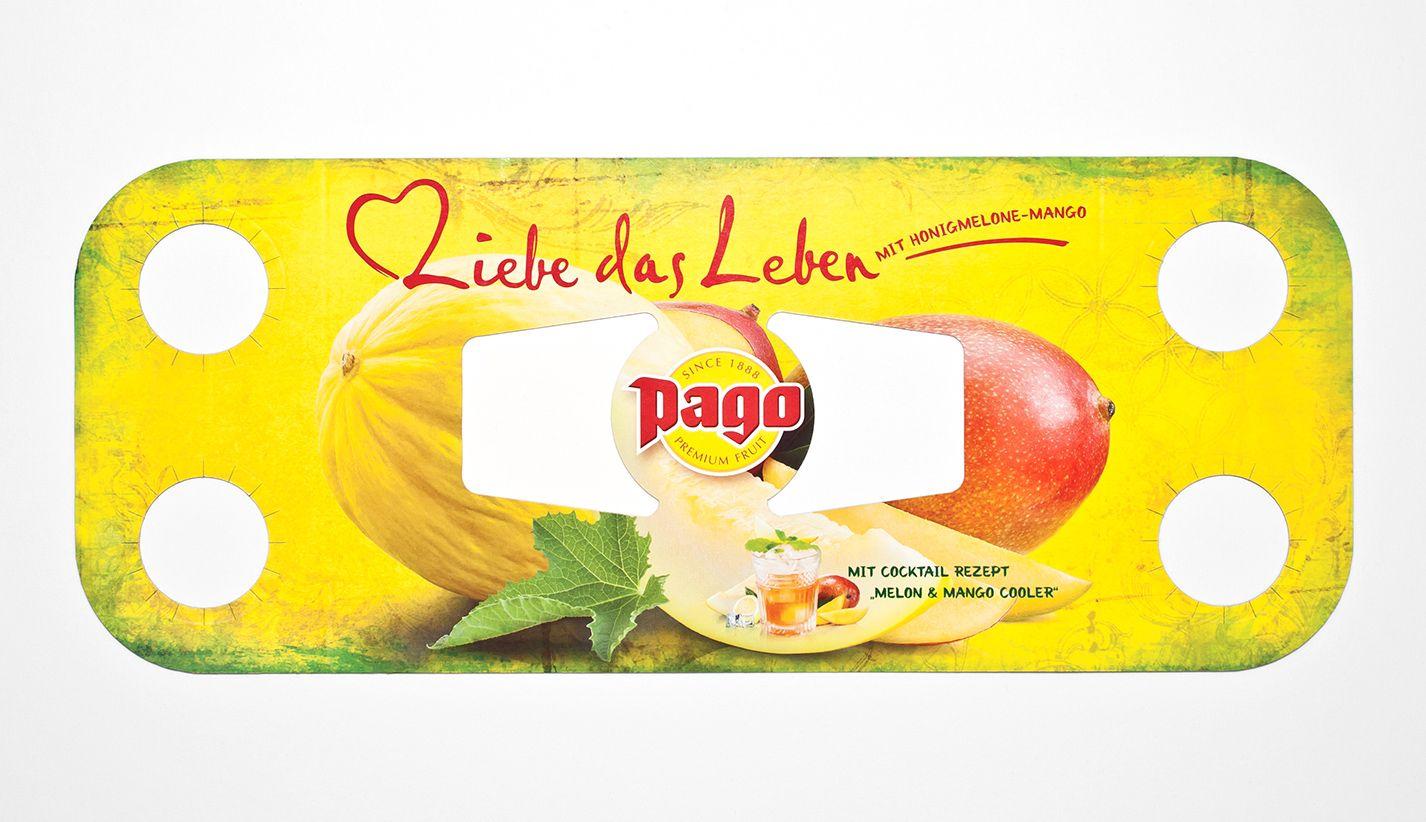 Pago Fruchtsaft Sampling Fixierung Kiste