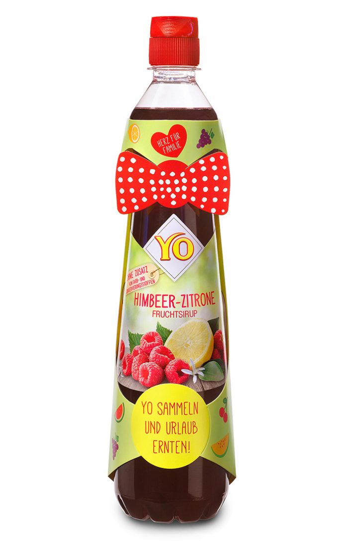 YO Fruchtsirup Kartonsleeve Promotion | Eckes-Granini