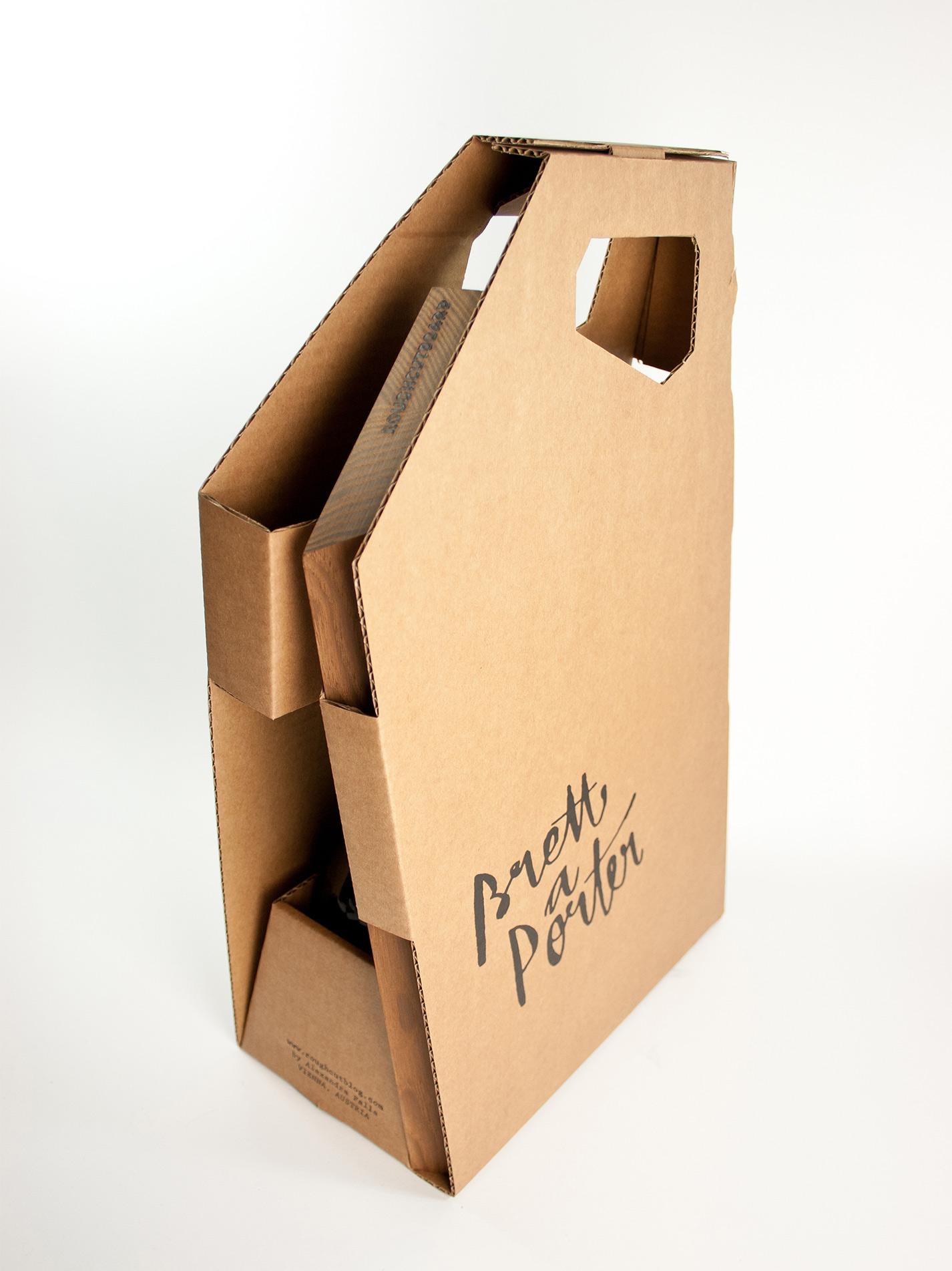 Brett a porter | roughcutboard tragbare Picknick Box