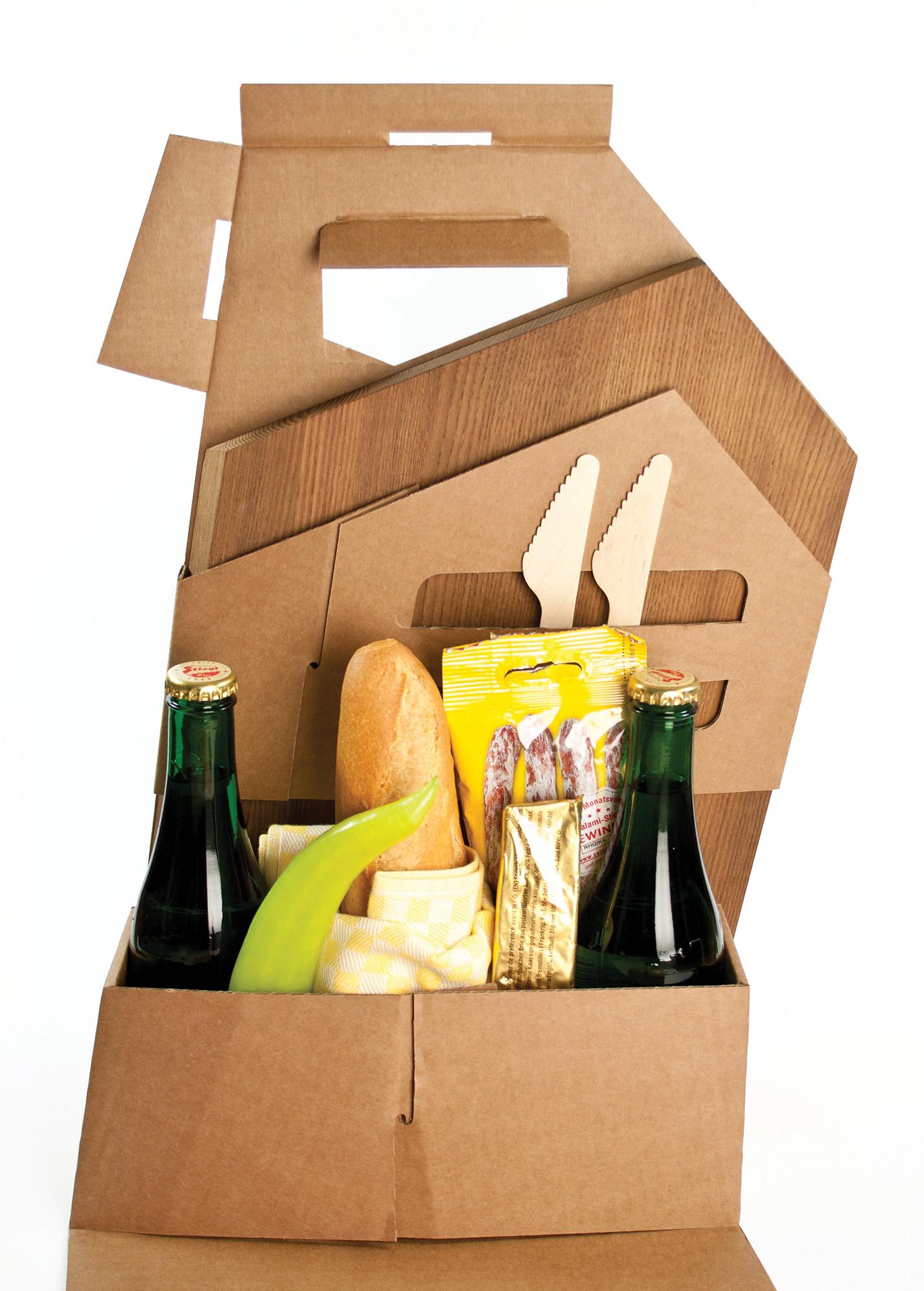 roughcutboard Picknick Box Jause