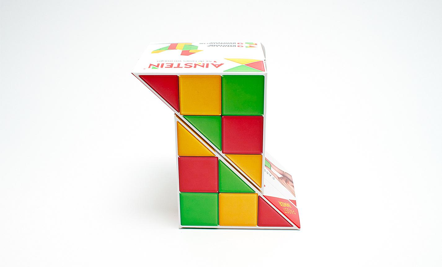 AINSTEIN magnetische Spielsteine Klappverpackung Display