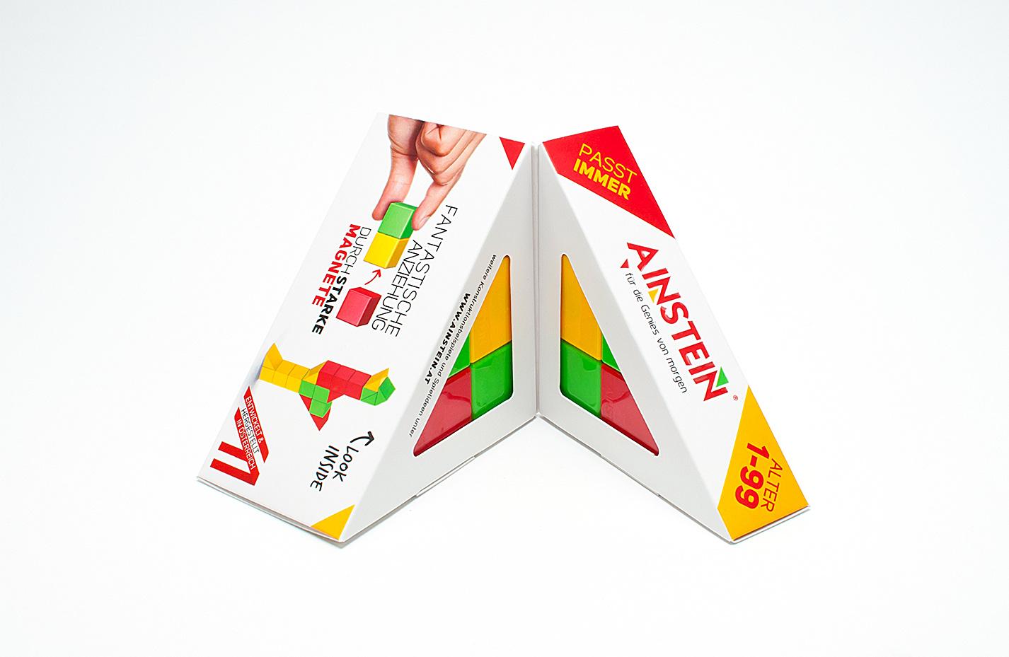 AINSTEIN magnetische Spielsteine KlappVerpackung