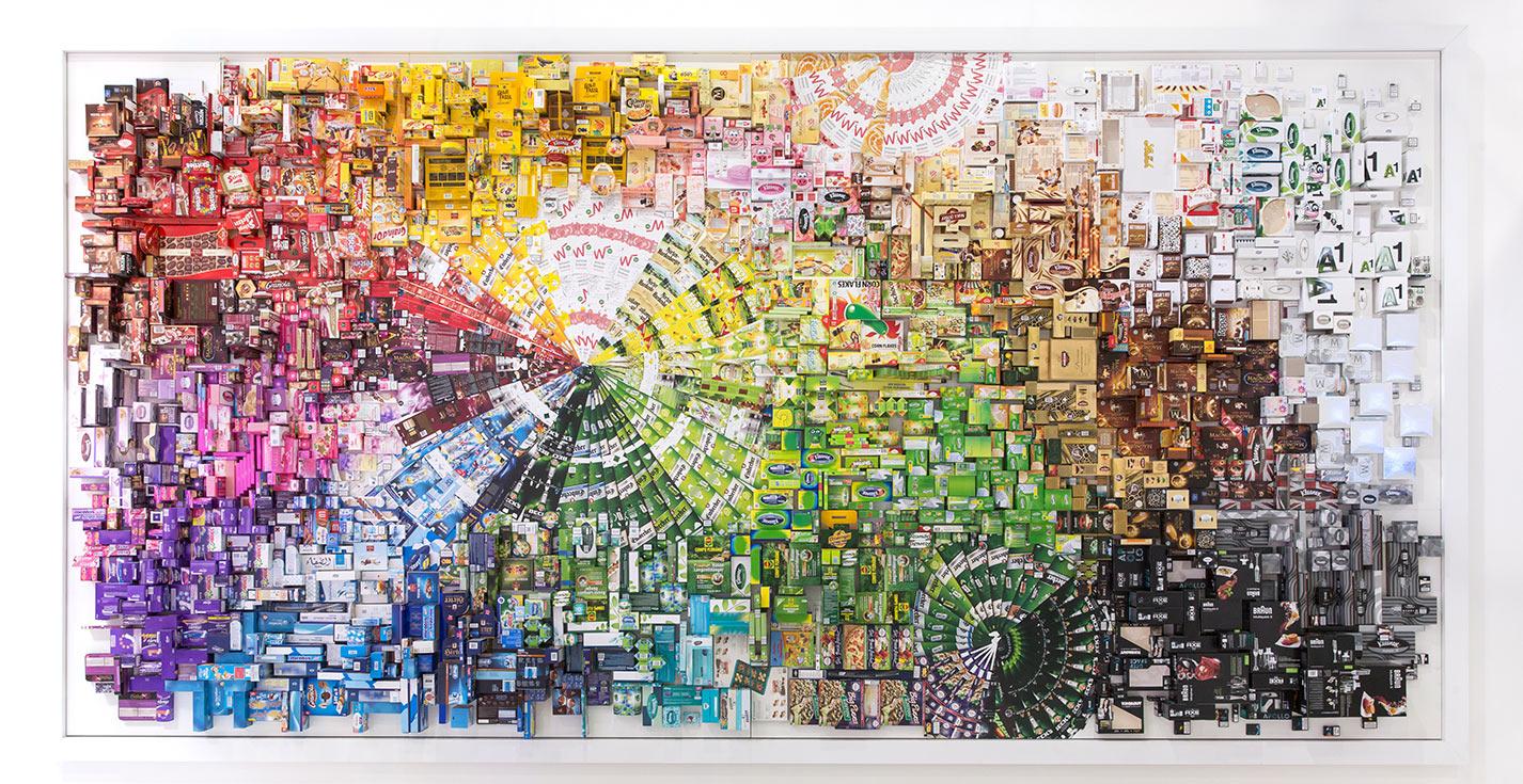 MMP Mayr-Melnhof Wandbild Artwork Interpack 2014
