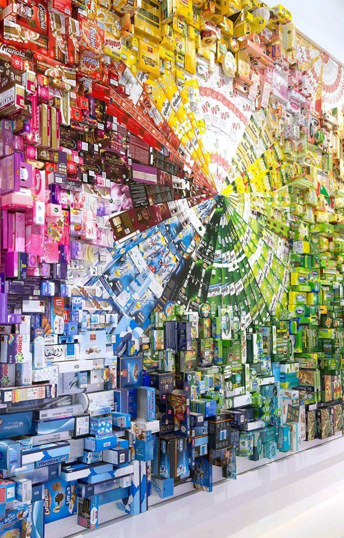 MMP Mayr-Melnhof Wandbild Mural Interpack 2014