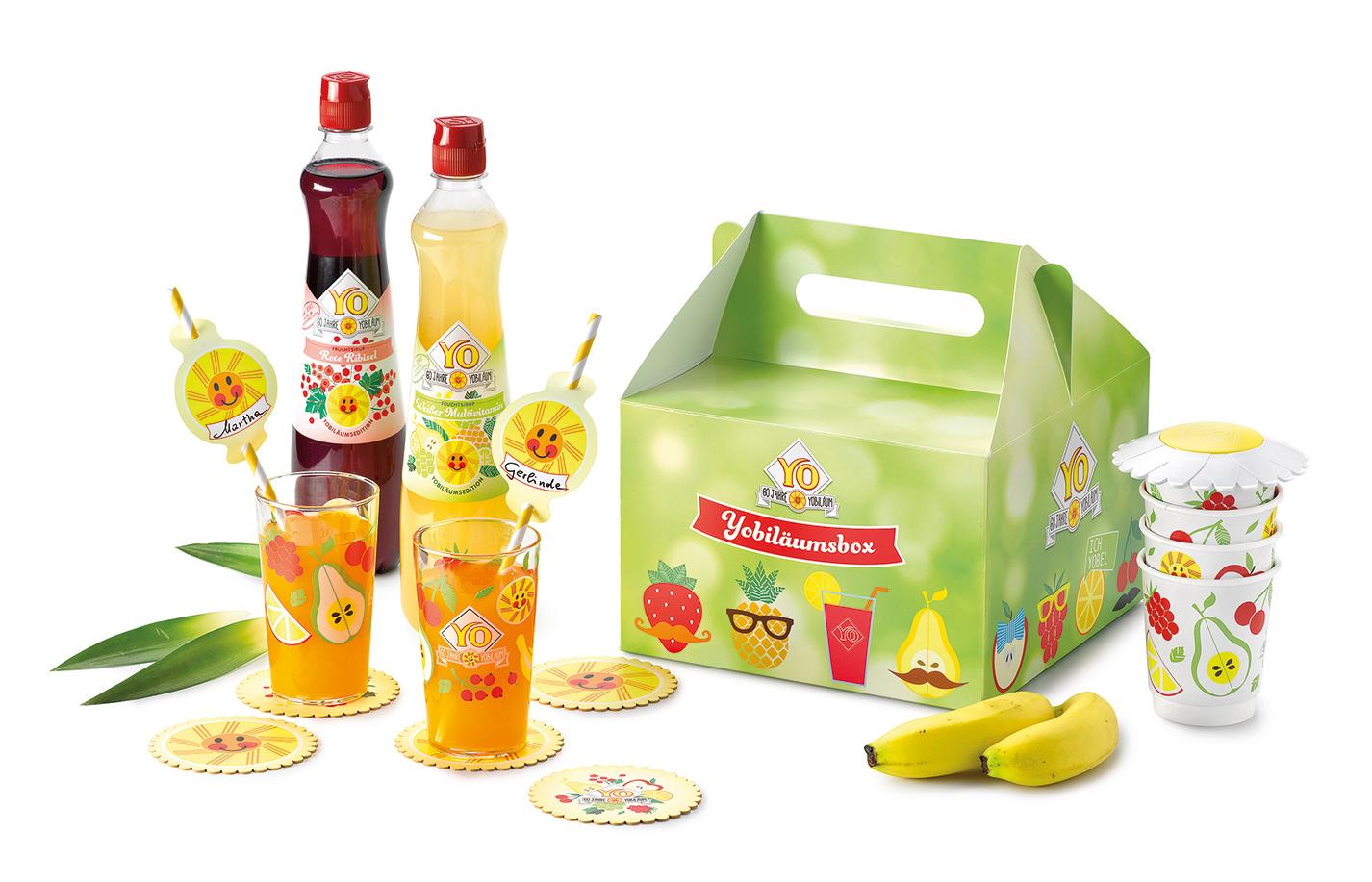 YO Fruchtsirup Yobiläumsbox