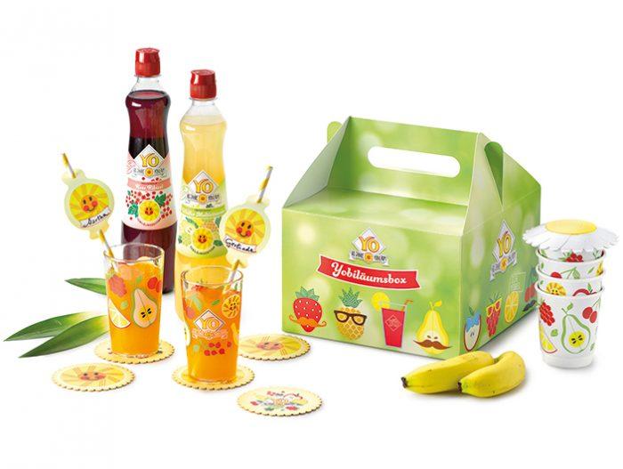 YO Fruchtsirup Jubilaeum Yobilaeumsbox