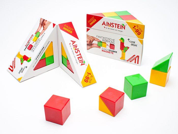 Ainstein Spiel Magnetische Steine Klappverpackung
